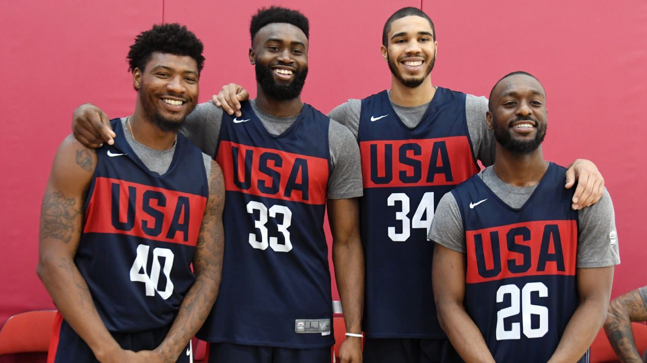 Team USA's green monster - A Boston quartet could take on the world