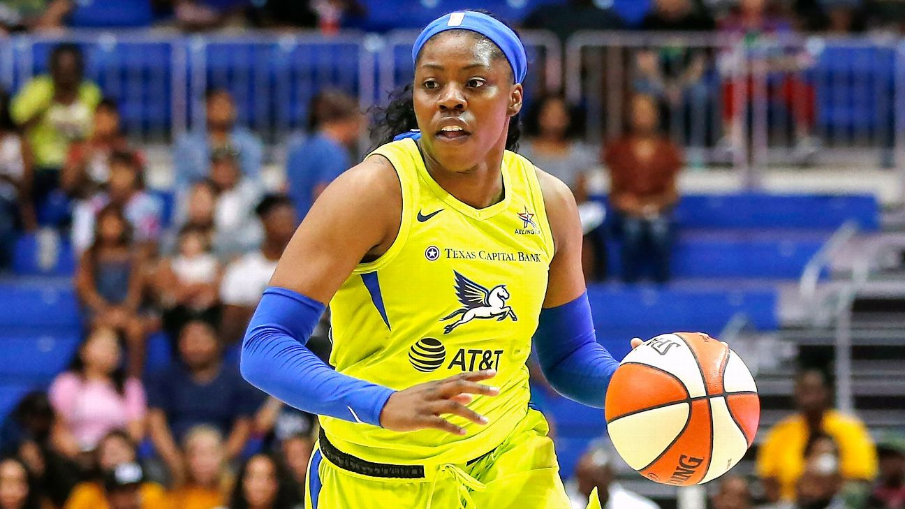 Dallas Wings' Arike Ogunbowale is top candidate for WNBA rookie of the year