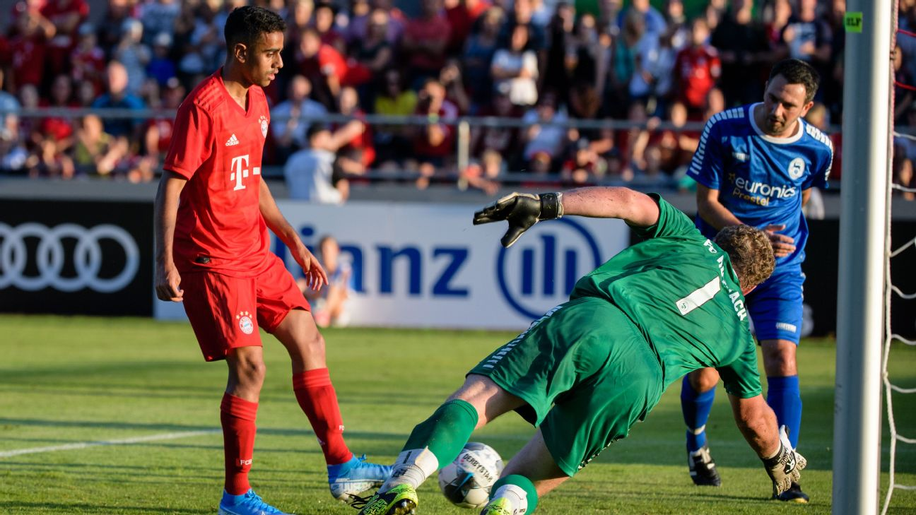Bayern Munich beat amateur side FC Rottach-Egern 20-2 in 2018.