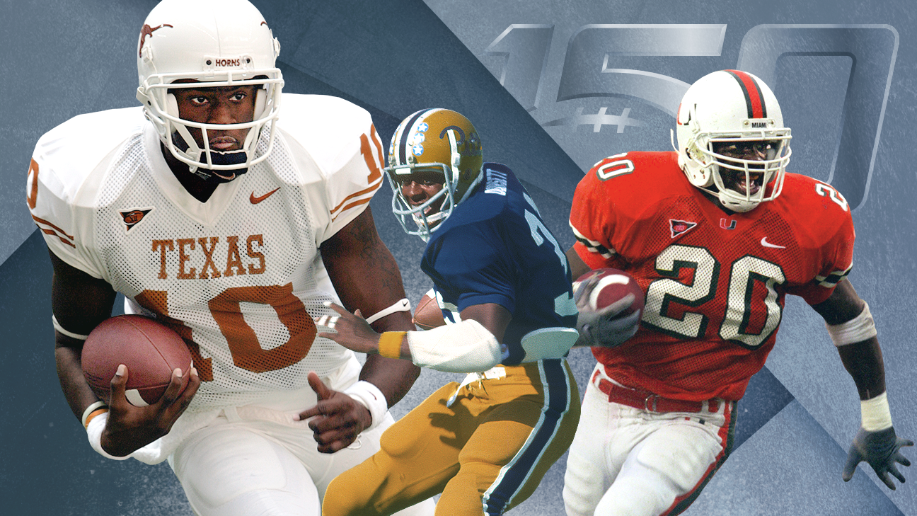 The 150 greatest teams in college football's 150-year history