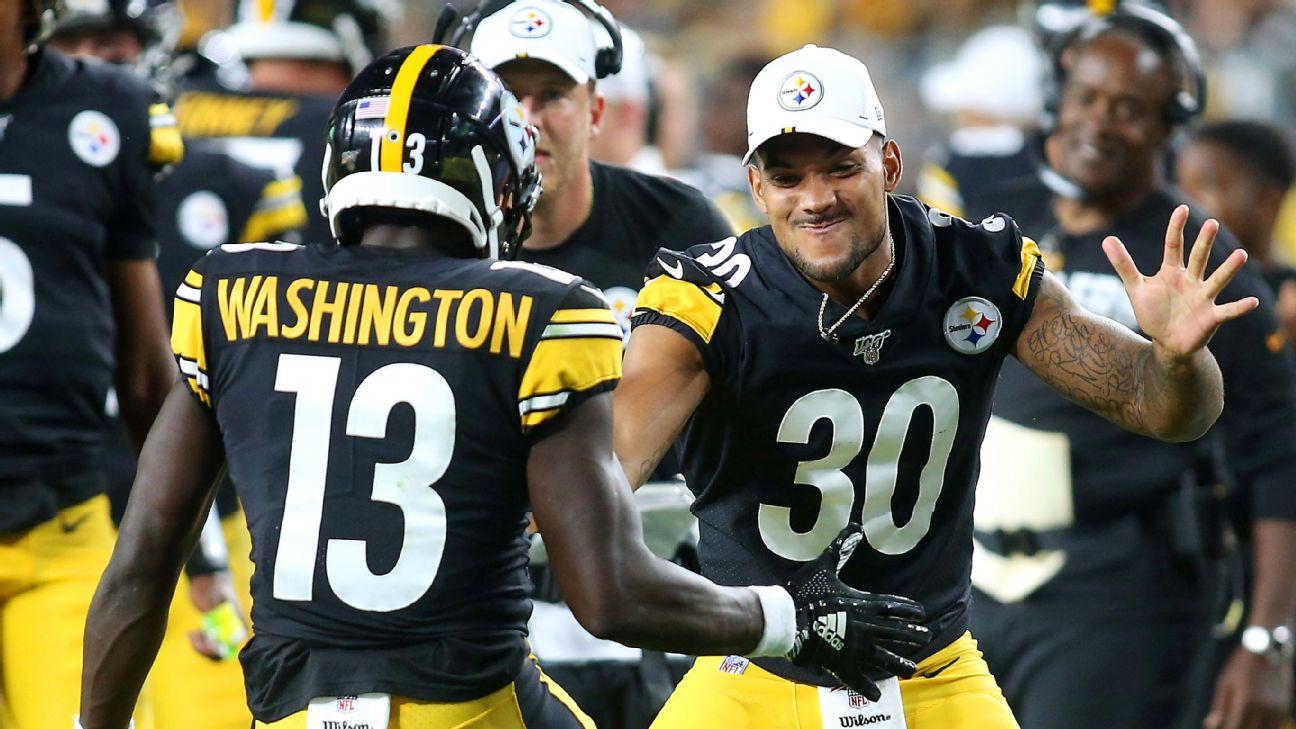 NFL preseason Week 1 takeaways: James Washington looks like a threat