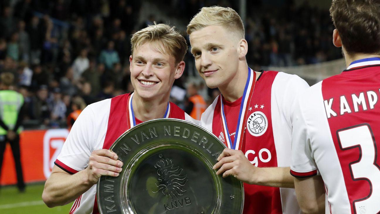 Frenkie de Jong, Donny van de Beek Ajax