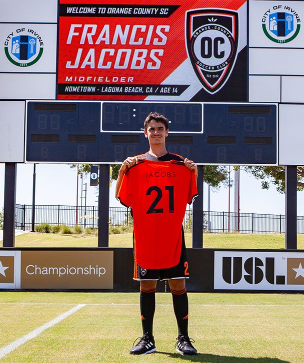 How Francis Jacobs, 14, his family and his new club are working to ensure he's not the 'next Freddy Adu' 2