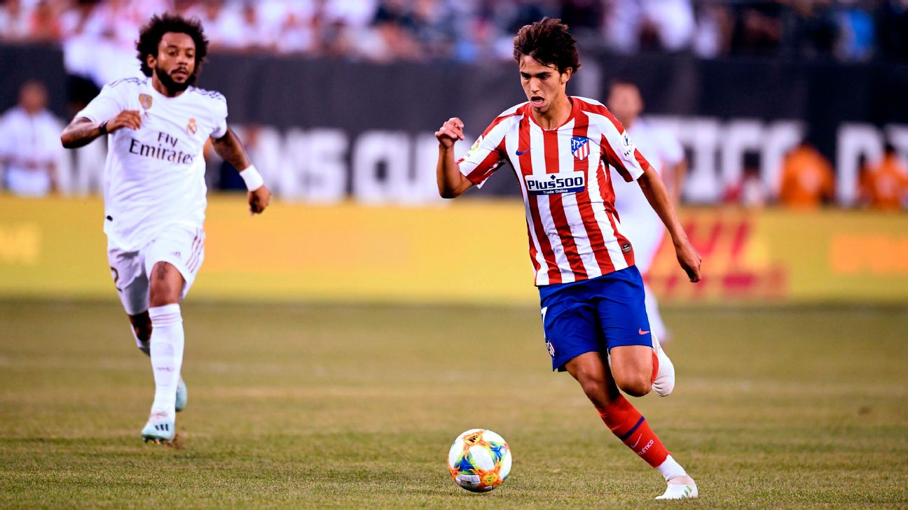 Joao Felix vs Real Madrid