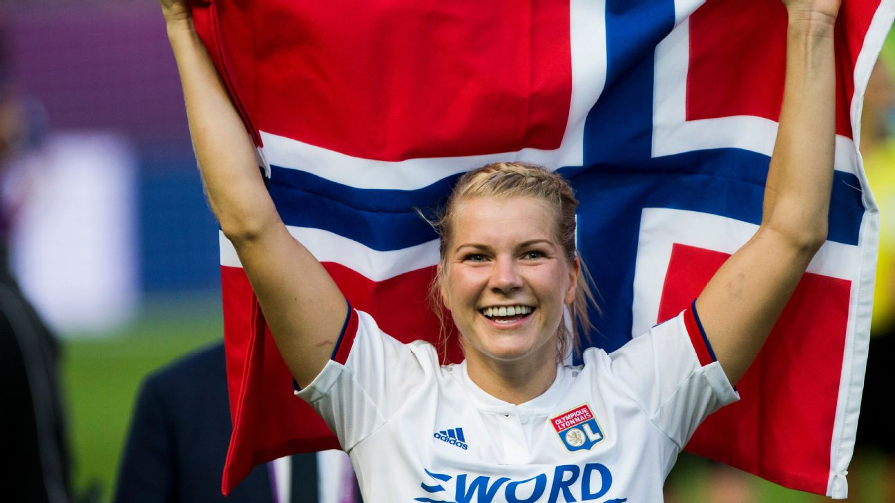 Ada Hegerberg and many of the world's top women's soccer players will play Thursday and Sunday in the International Champions Cup.