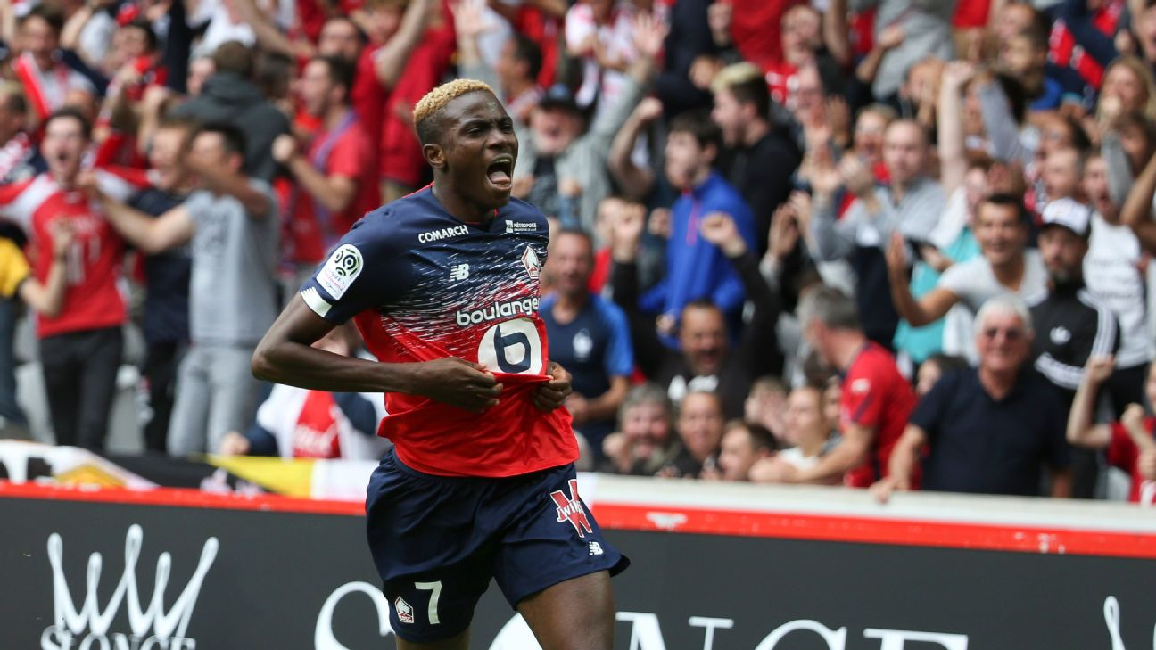 Victor Osimhen's Lille career got off to a flyer, with a brace against FC Nantes.