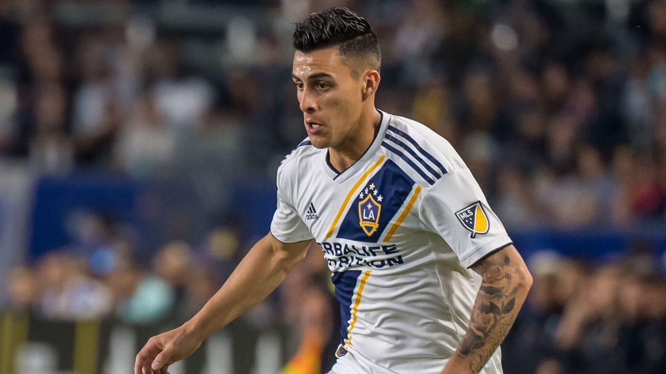 Cristian Pavon, LA Galaxy