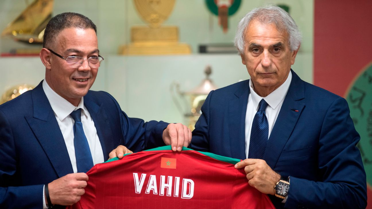 Vahid Halilhodzic has been tasked with a hefty list of challenges as new Morocco coach.