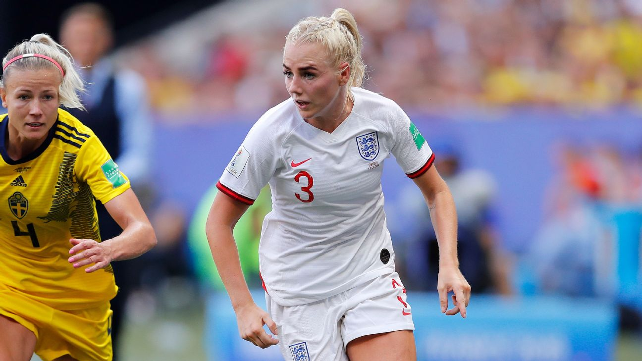 At 25, Alex Greenwood just started for England in her second World Cup and is the splashy summer signing for Lyon, which seeks its first ICC title.