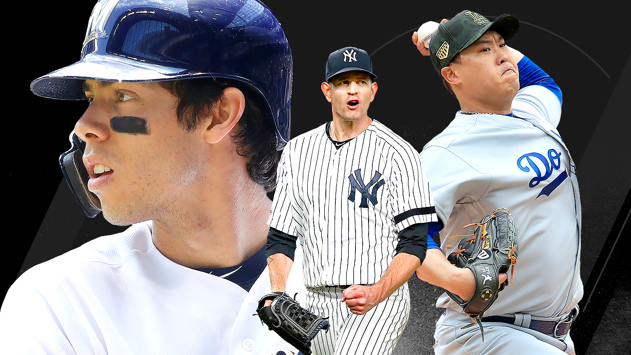 Power Rankings -- Yankees, Dodgers rise, but only one can be