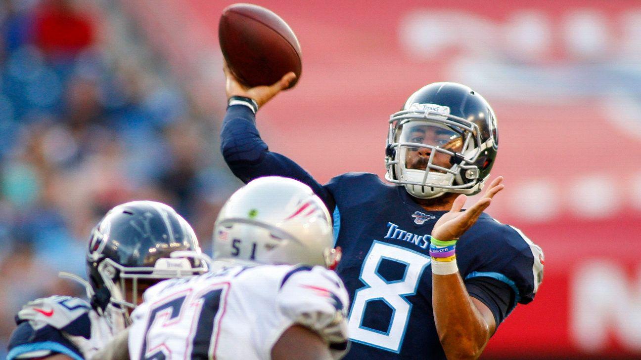 bd351c2a NFL preseason Week 2 takeaways: Titans QB Marcus Mariota makes ...