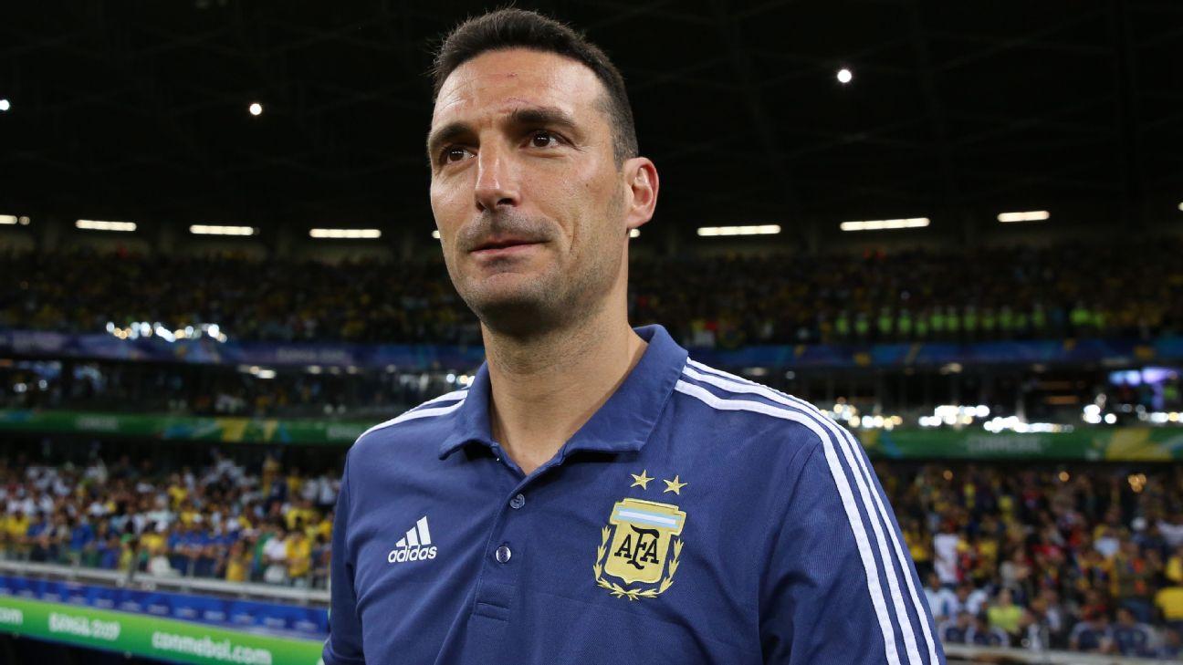 Lionel Scaloni, Argentina