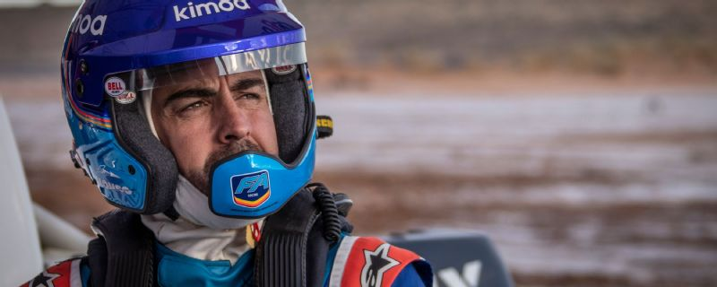 Alonso embarks on test programme for 2020 Dakar Rally