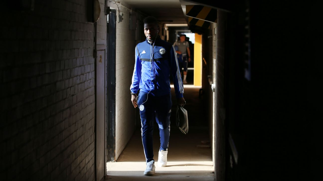 Kelechi Iheanacho has not yet emerged from the dark tunnel that has been his past 17 league games at Leicester. Not a start to be seen, and no minutes yet this season.