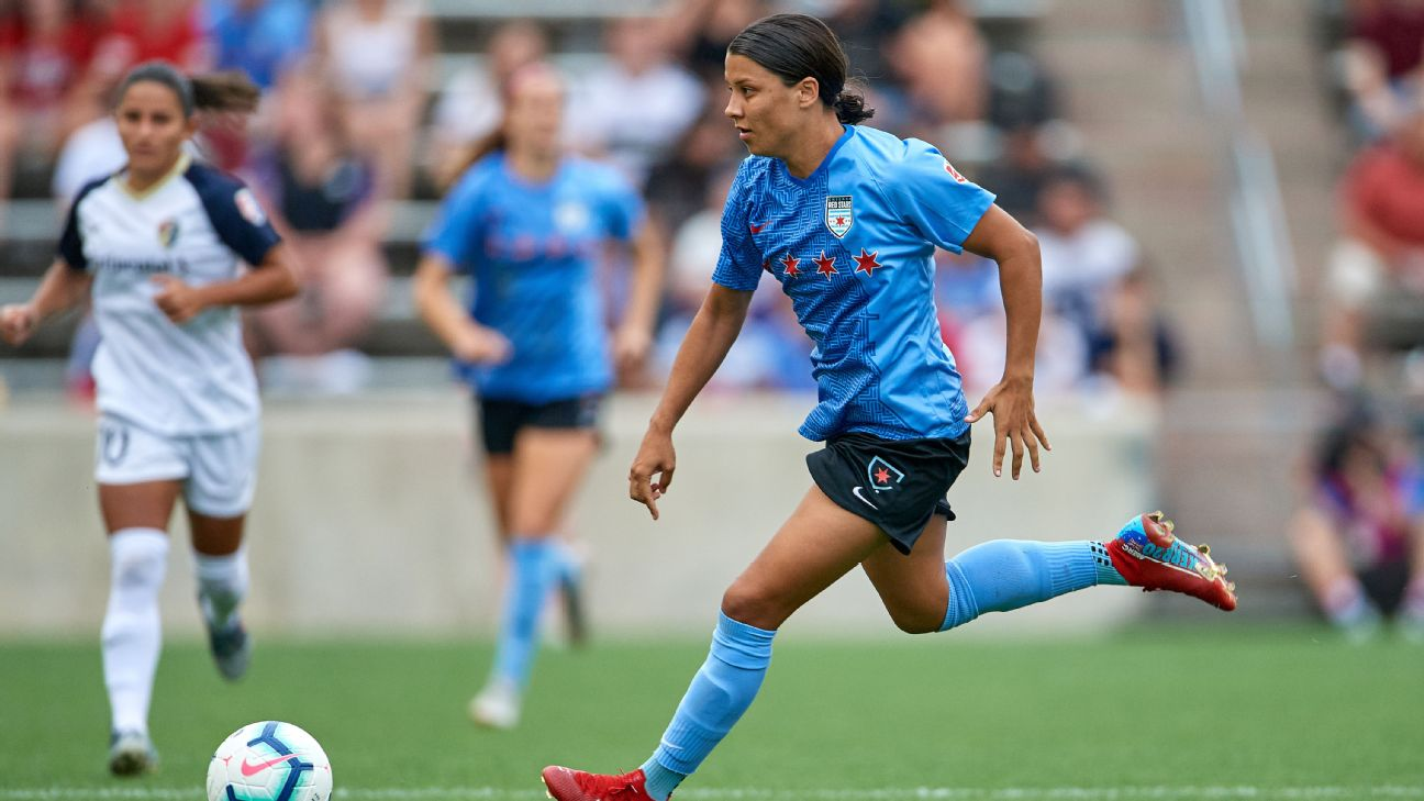 Who is in the hunt for the NWSL Shield? Is Sam Kerr the MVP front-runner? Catch up on the league as it heads into the international break.