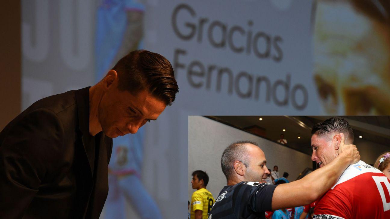 Fernando Torres toe poke