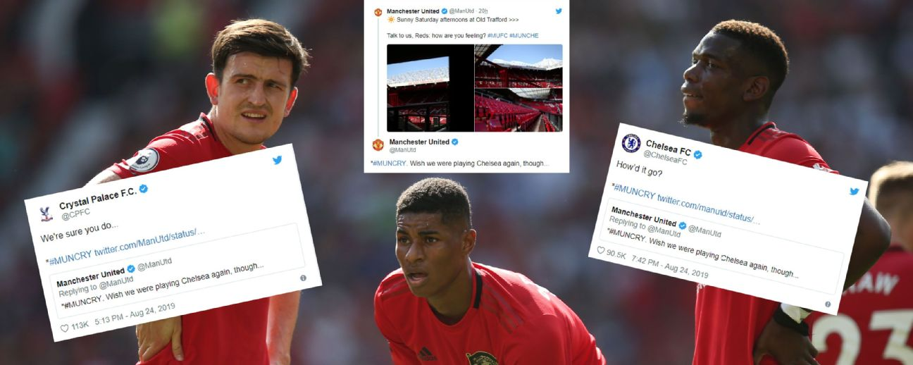 Man United twitter woe