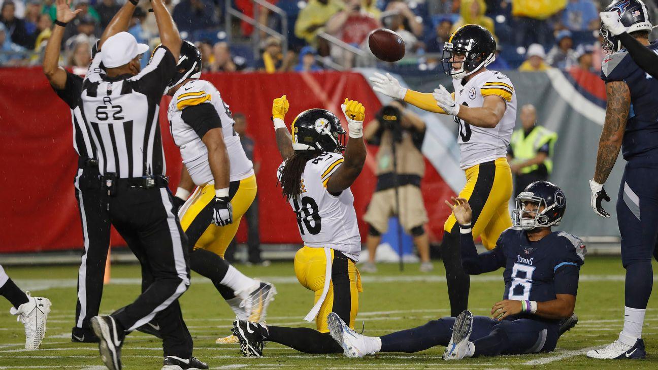 NFL preseason Week 3 takeaways: Titans not exactly in