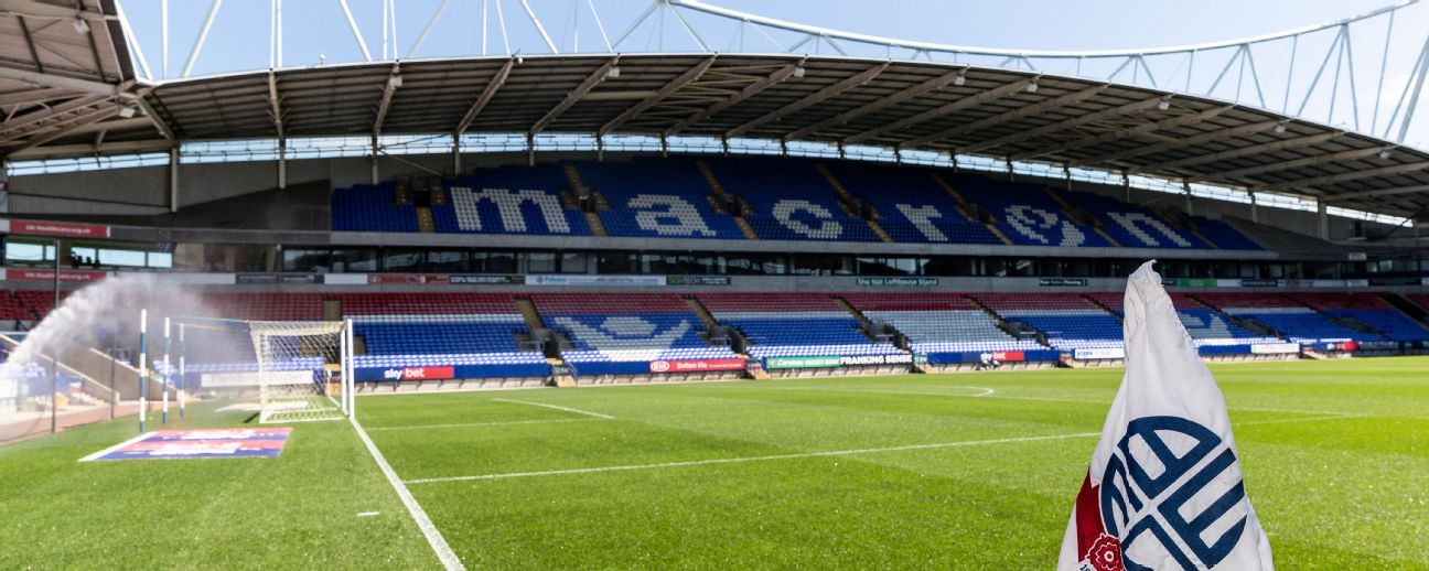 Bolton Wanderers have a deadline of 5 p.m. on Tuesday to resurrect takeover talks, or they face expulsion from the EFL and liquidation by the end of the week