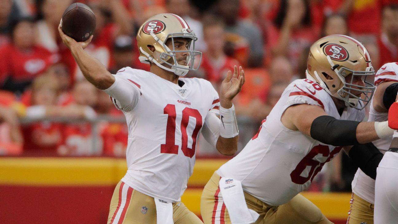 huge selection of ba7d6 24559 San Francisco 49ers 2019 season preview: Can Jimmy Garoppolo ...