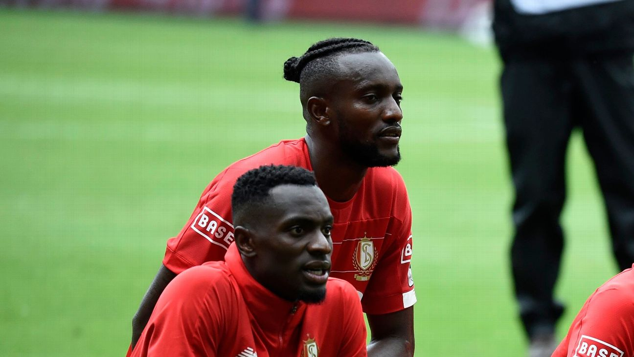Paul-Jose Mpoku and Merveille Bokadi, both of the DRC, have become integral to Standard Liege's side.