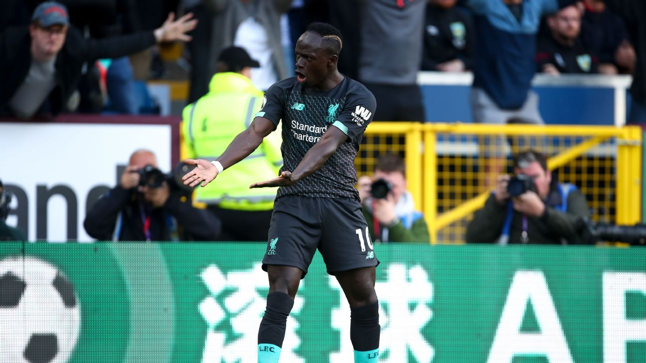 Sadio Mane was left frustrated during Liverpool's 3-0 win against Burnley.