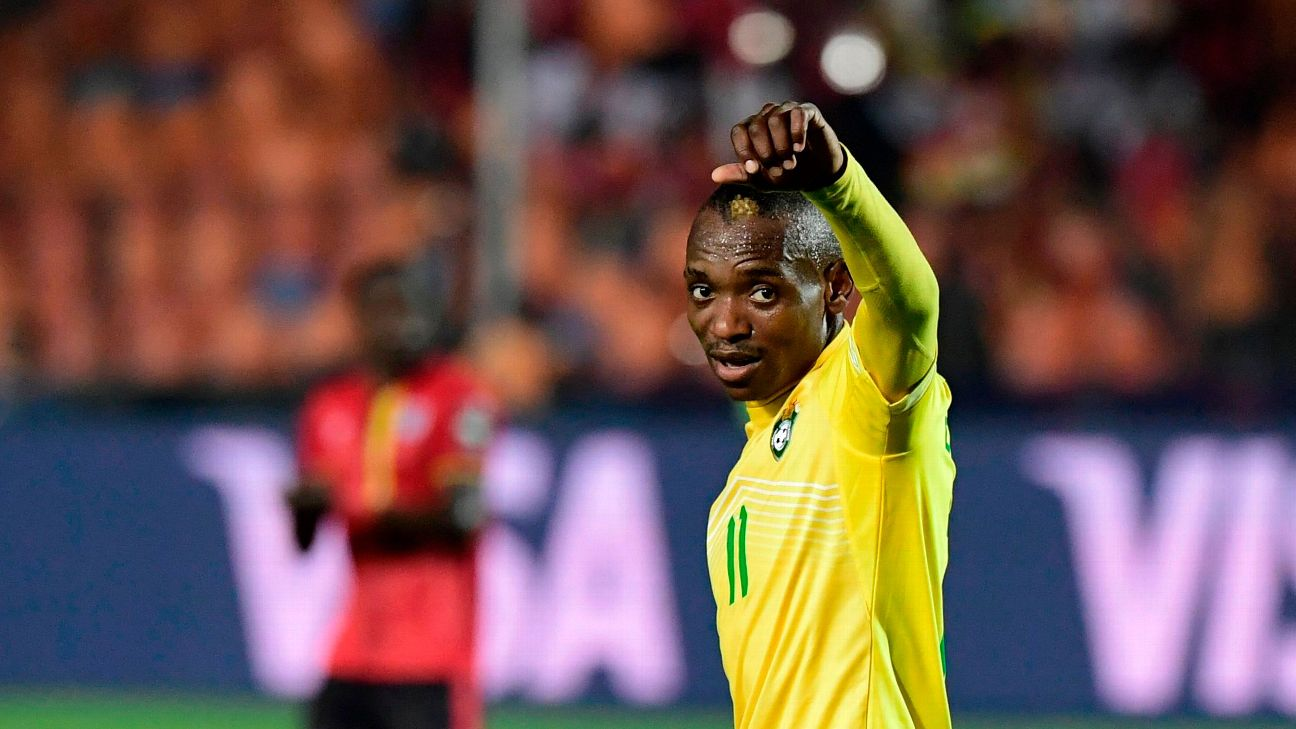 Khama Billiat is the linchpin of the Zimbabwe side, and their second round hopes could rest on his recovery from injury.