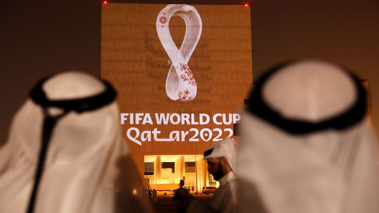 The Official Emblem of the FIFA World Cup Qatar 2022