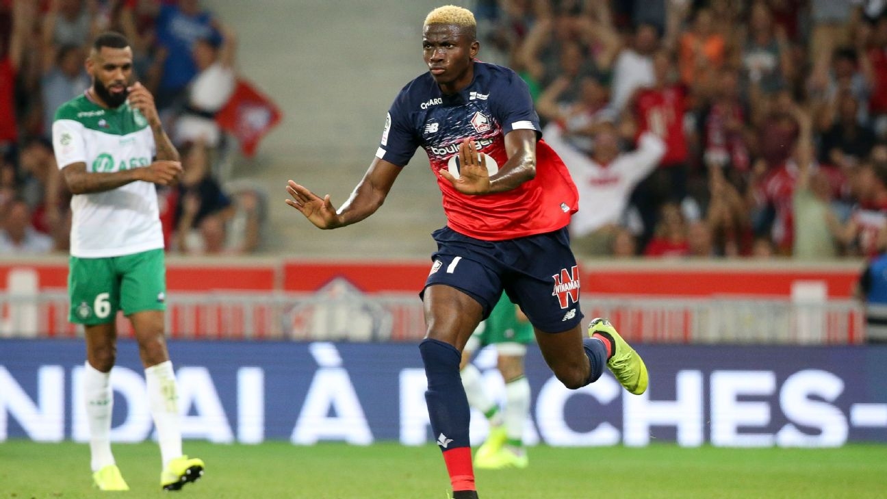 Will Victor Osimhen be rewarded for his good early form for Lille in the French Ligue 1 with a start for Nigeria vs. Ukraine?
