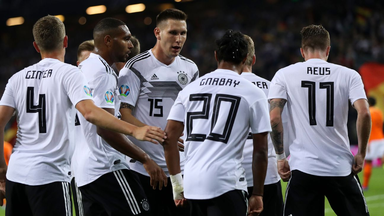 Germany are in trouble on road to Euro 2020. PLUS -- Neymar returns to action, Samuel Eto'o retires 1