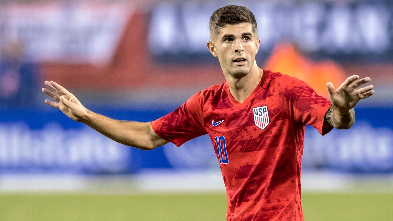 Pulisic is the undisputed leader of this new-look U.S. men's team, but the depth around him looks worryingly thin at key positions.