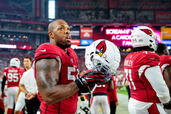 Cards release vet Suggs, who goes on waivers