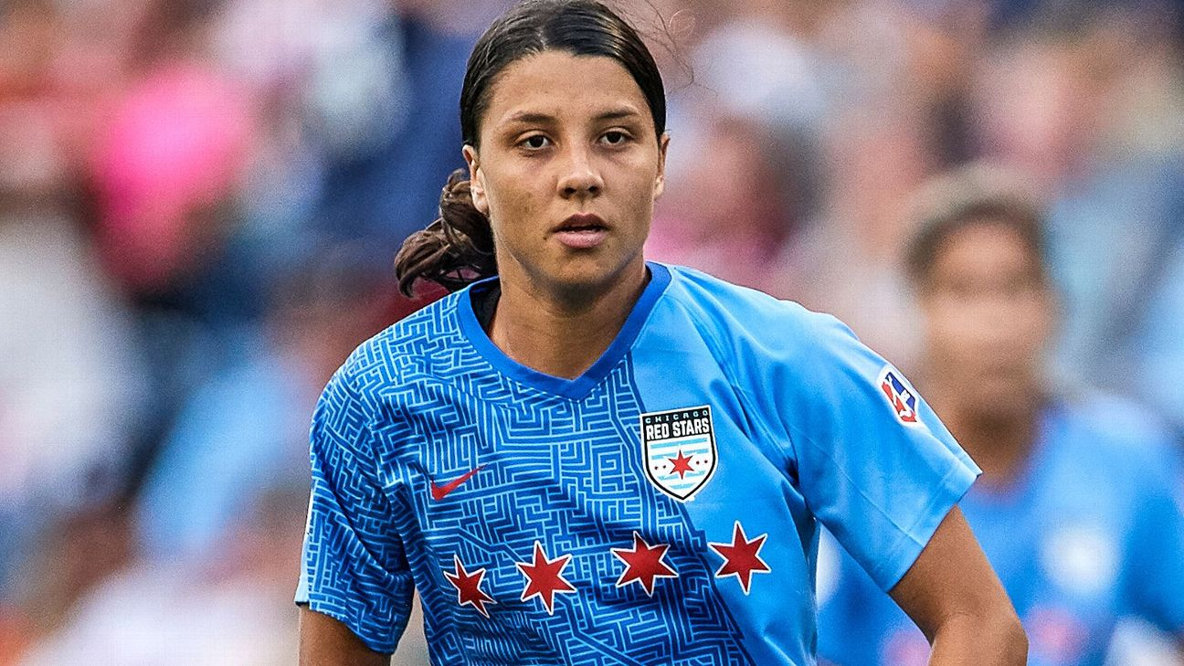 Sam Kerr, who is expected to be named NWSL MVP before Sunday's final, leads the Red Stars into their first championship game appearance.