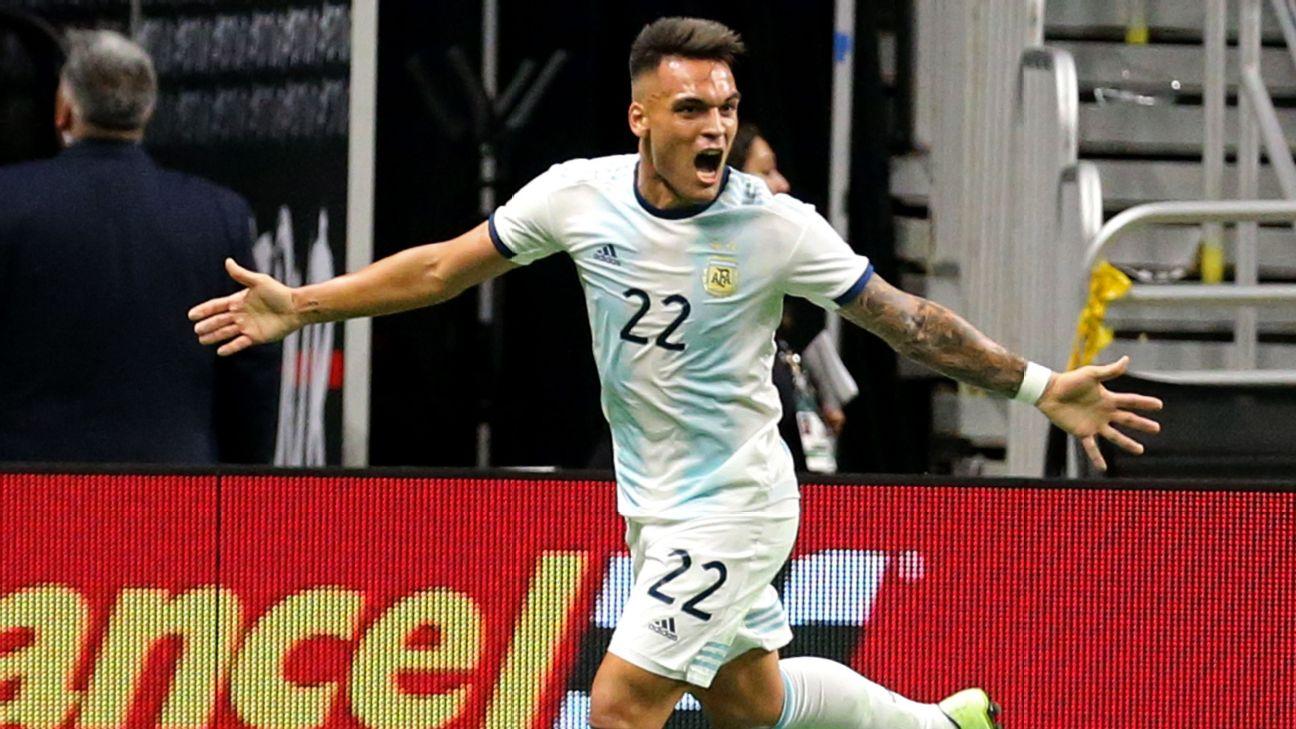Argentina vs. Mexico - Football Match Report - September 11, 2019 1