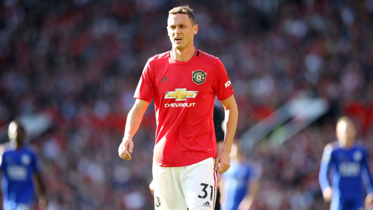 Nemanja Matic made his first appearance of the season against Leicester City at the weekend.