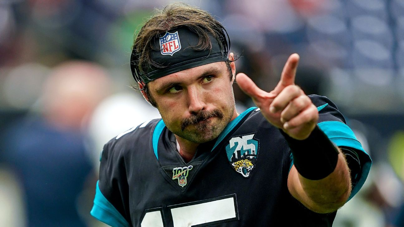 With swagger and that 'stache, Minshew Mania engulfs Jacksonville ...