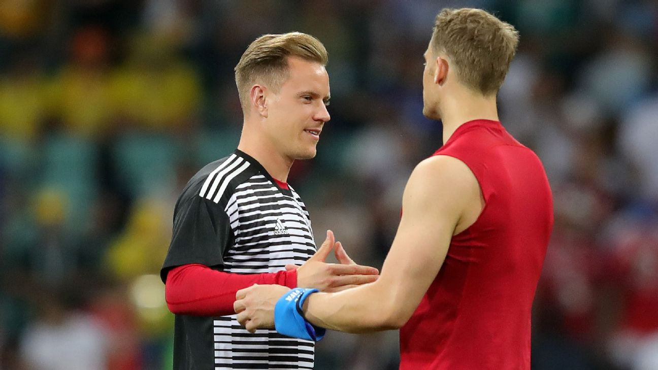 Manuel Neuer and Marc-Andre ter Stegen, Germany