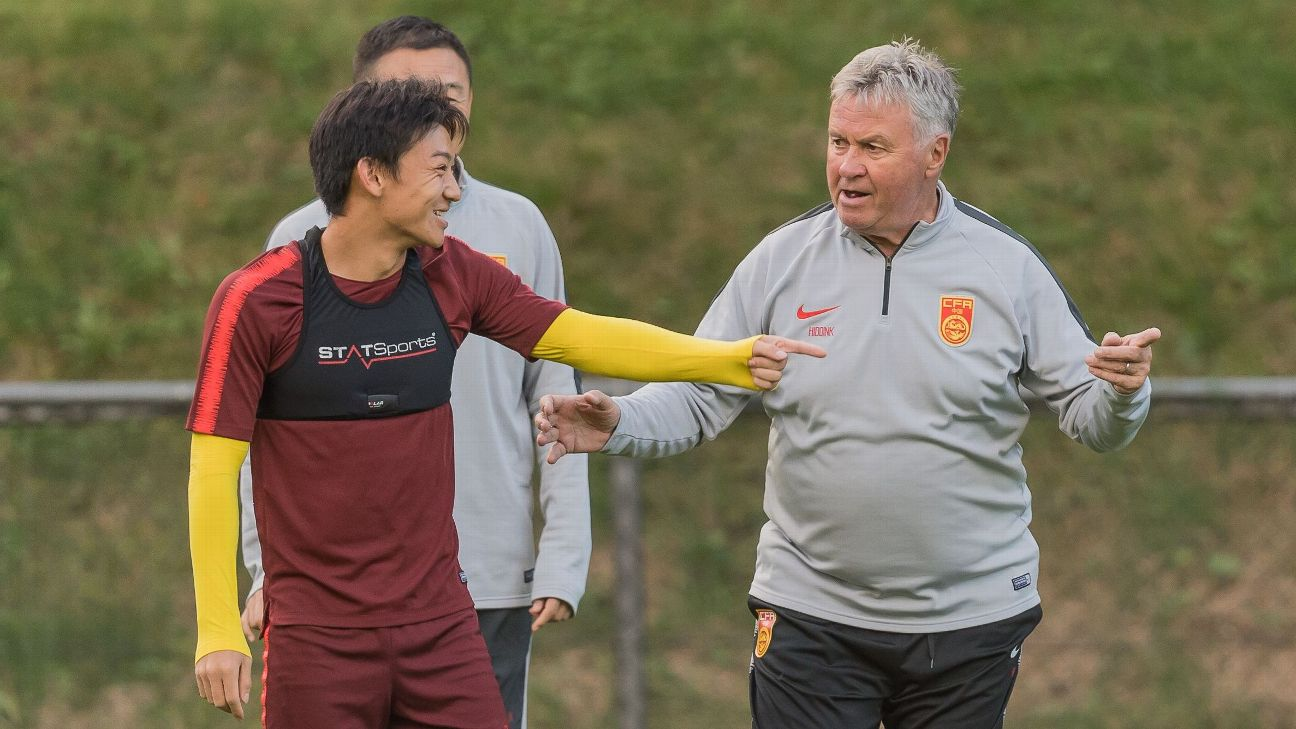 Guus Hiddink, China U23