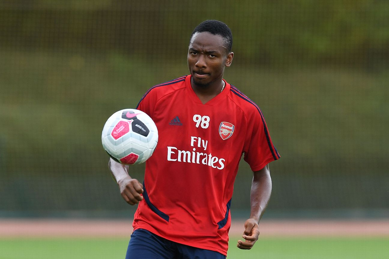 The only Arsenal pictures of Kelechi Nwakali are in training gear, as he never made his debut for the club in the three years he was on their books.