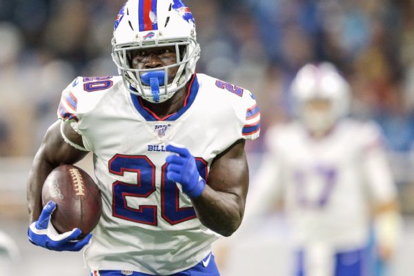 Agent: RB Frank Gore signing with