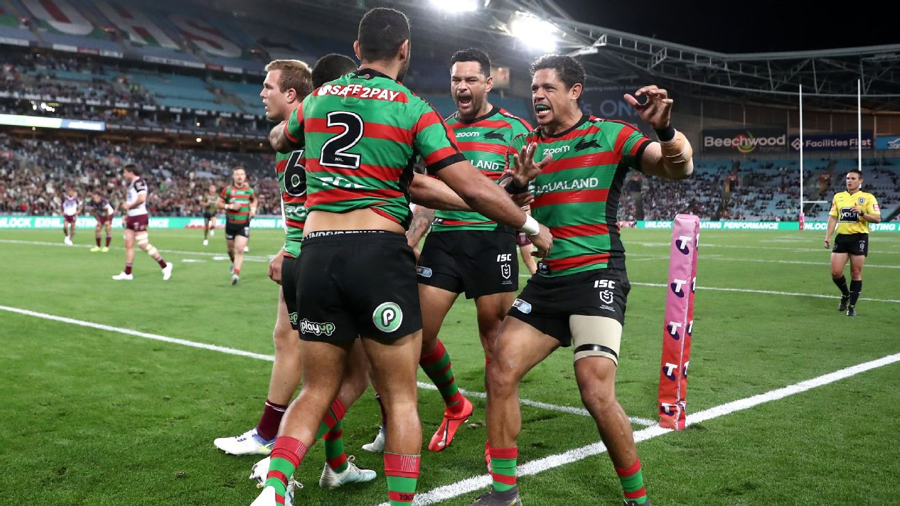 Nrl South Sydney Rabbitohs Down Manly Sea Eagles In Dramatic Semifinal