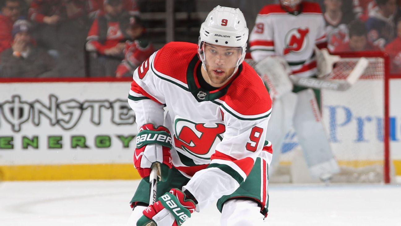 official photos f3c64 aa99d Taylor Hall unplugged - Devils winger on frustrating 2018-19 ...