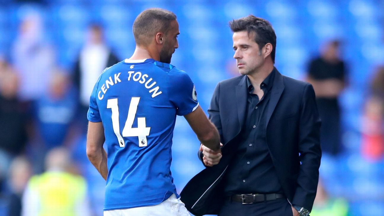 Cenk Tosun and Marco Silva