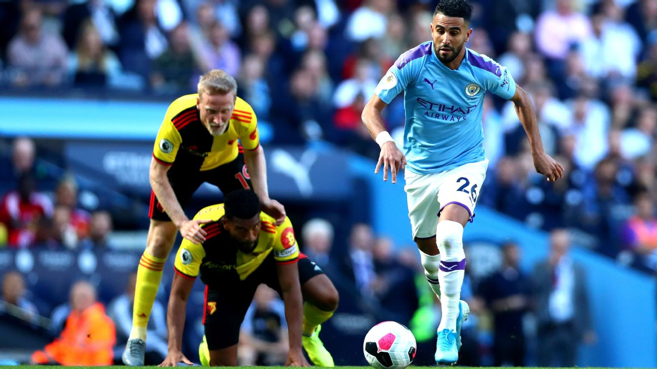 Riyad Mahrez was superb for Manchester City in their 8-0 victory vs. Watford.