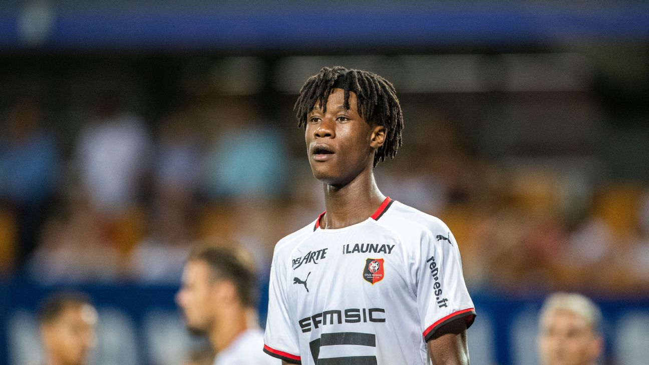 Eduardo Camavinga Is Only 16 But His Form For Rennes Has Top European Scouts Circling