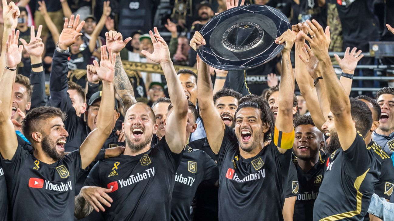 LAFC lifts the MLS Supporters' Shield
