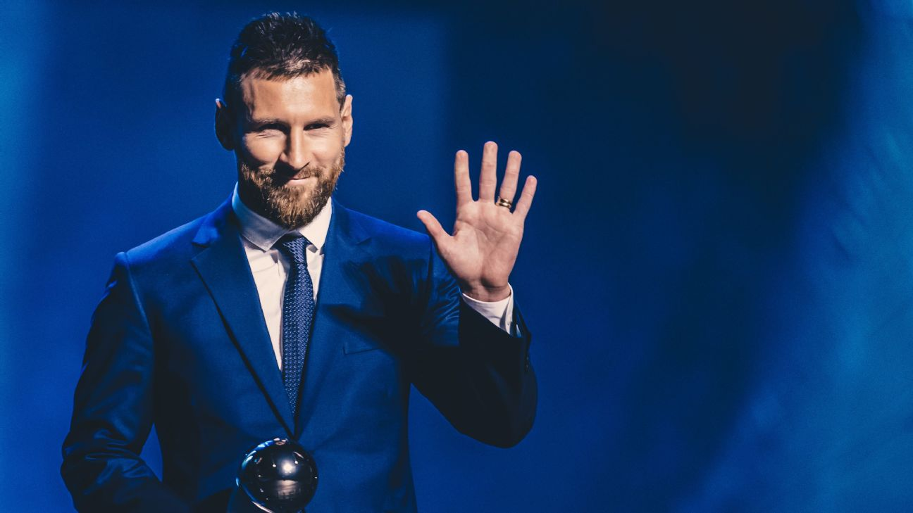 Lionel Messi, FIFA The Best awards