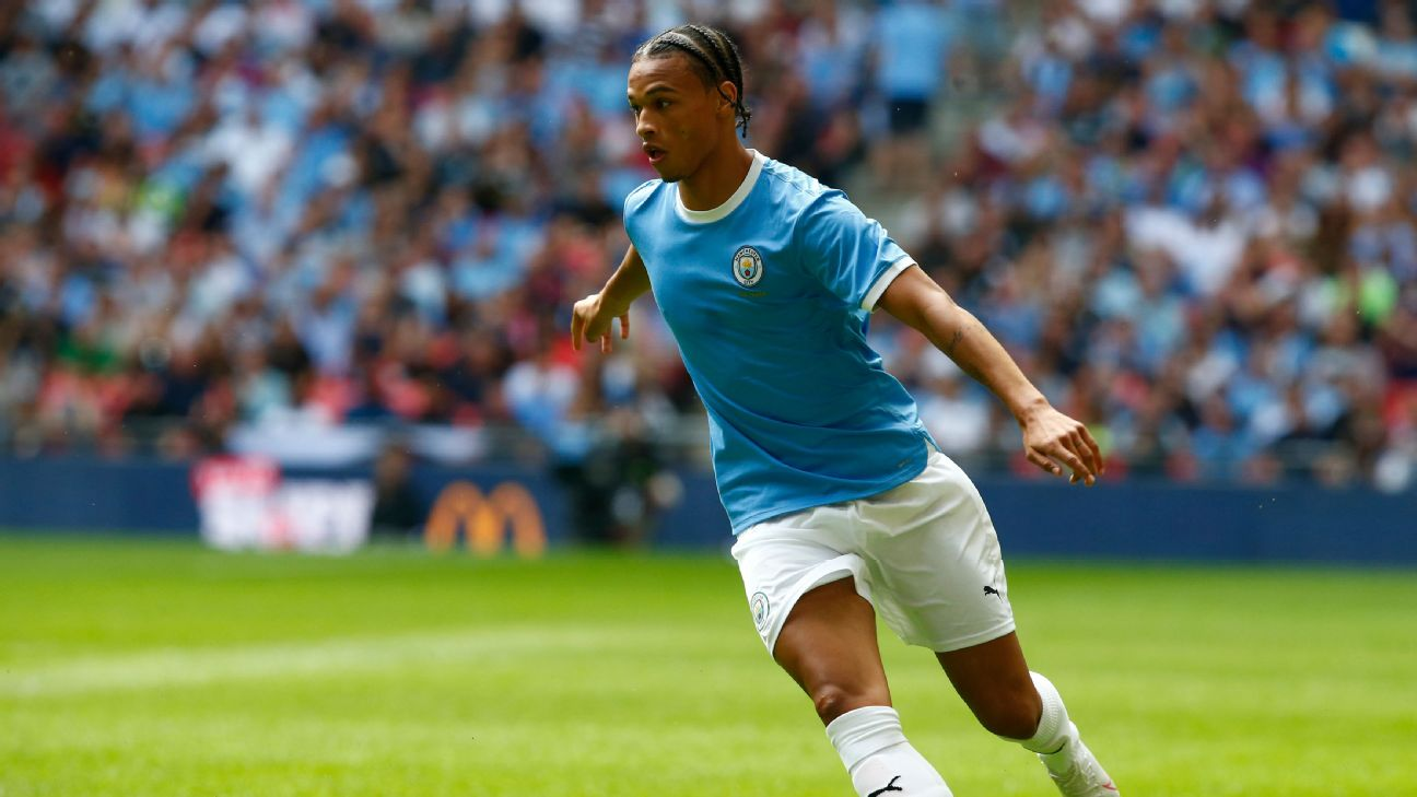 Leroy Sane sustained a knee injury in Manchester City's Community Shield win over Liverpool in August, and is expected to return as late as March 2020.