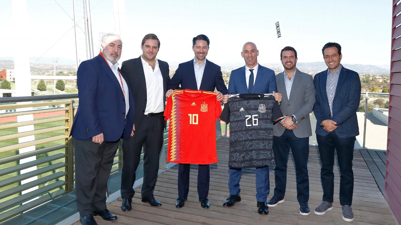 FMF firma acuerdo con la RFEF, España podría jugar contra México en el futuro