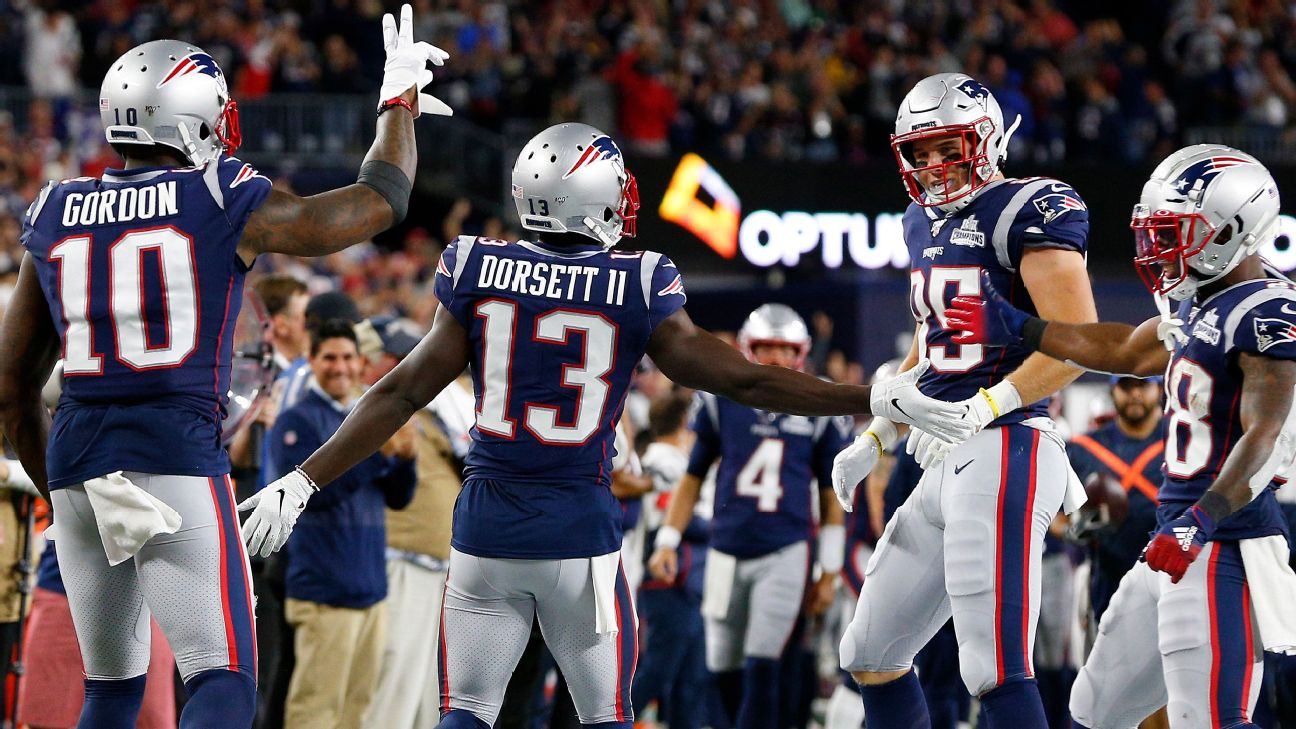 Phillip Dorsett II honors father with name on back of jersey - New ...